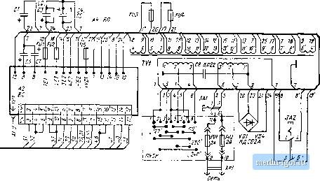 электрическая схема мерседеса