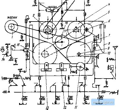 вильма 104 стерео схема принципиальная блока индикаторов