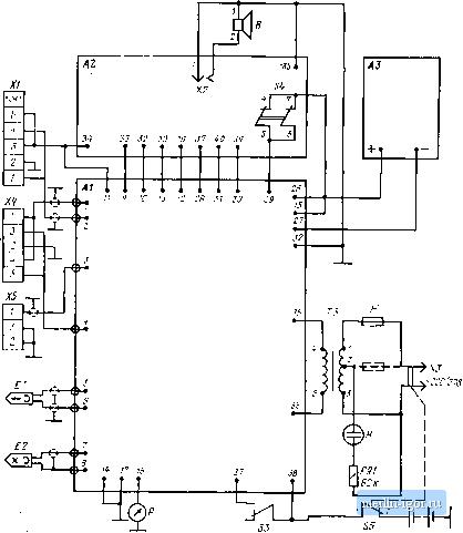 схема магнитофона Весна-
